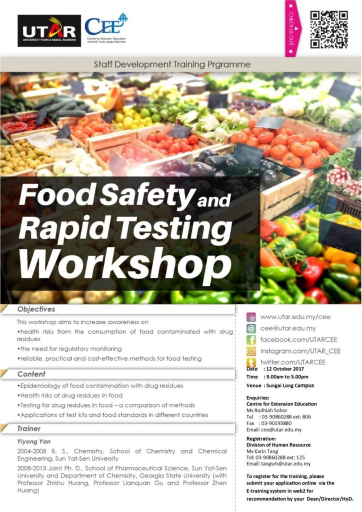 Workshop on Food Safety and Rapid Testing